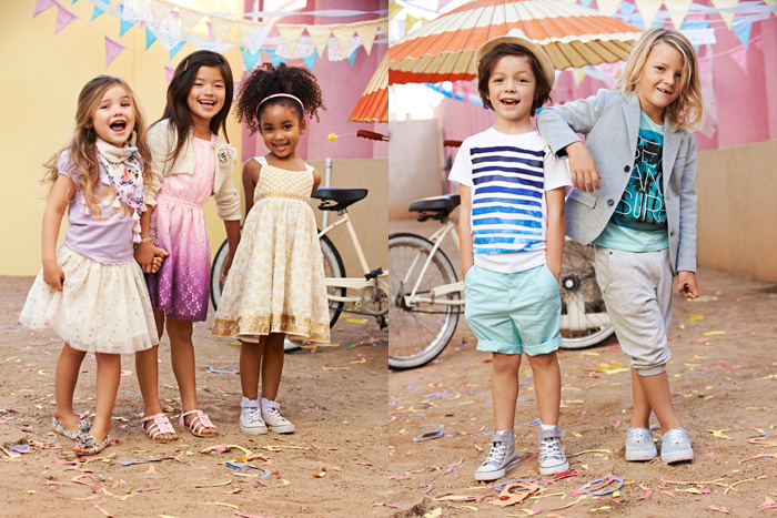 Hu0026M Kids Spring 2014 Collection - minilicious by wendy lam