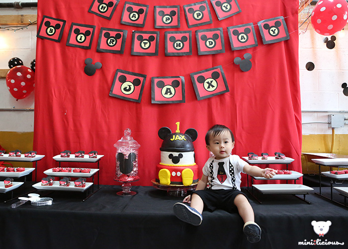 Jaxu0027s Mickey Mouse Themed Birthday Party  sc 1 st  minilicious & Jaxu0027s Mickey Mouse Themed Birthday Party - mini:licious by wendy lam