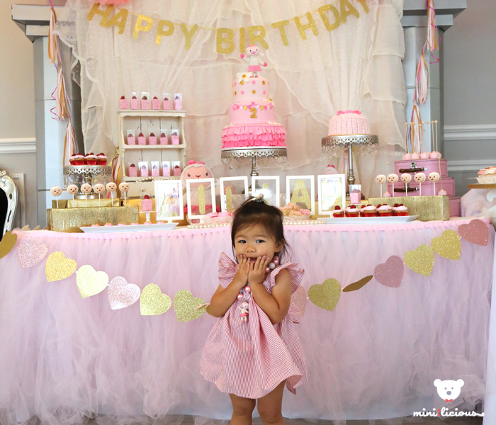 Lilian's Lambie Themed 2nd Birthday Party