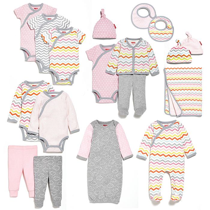 Skip Hop Modern Baby Basics Layette Collection Mini