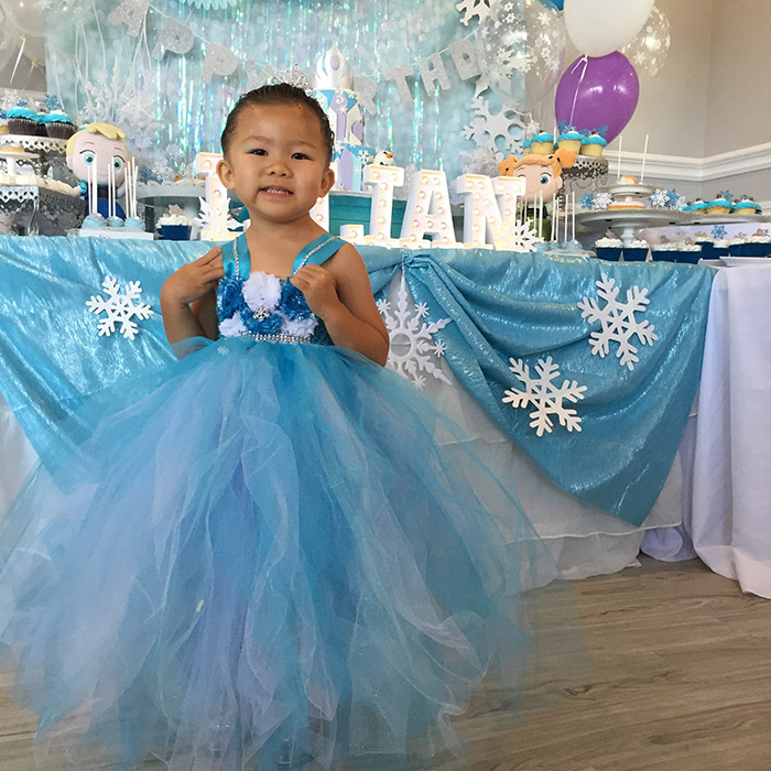 Lilian's Frozen Themed 3rd Birthday Party