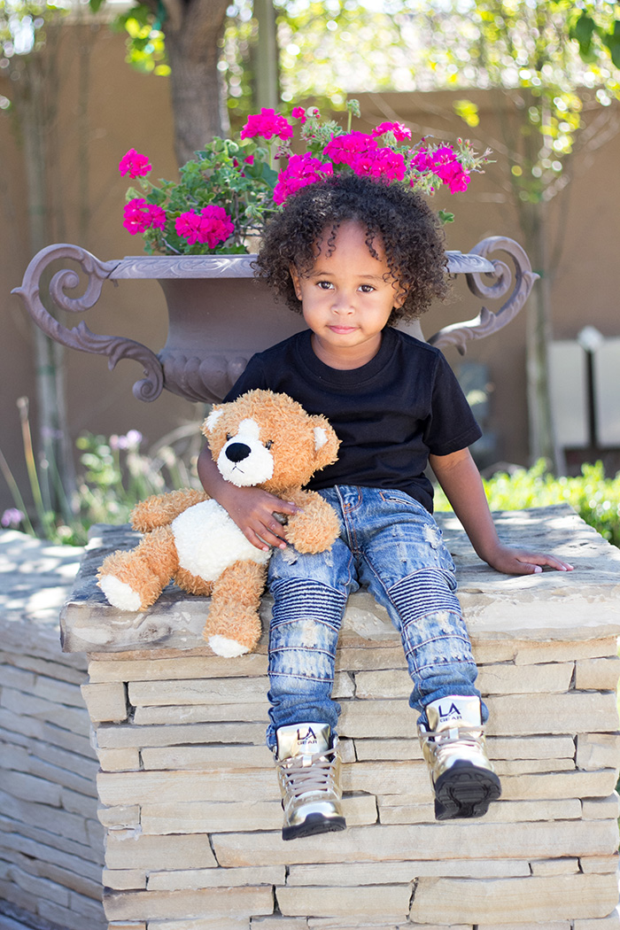 Tyga S Son King For L A Gear Kids Mini Licious By Wendy Lam