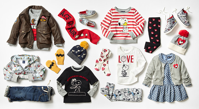Gapkids X Peanuts Holiday 2015 Collection Mini Licious