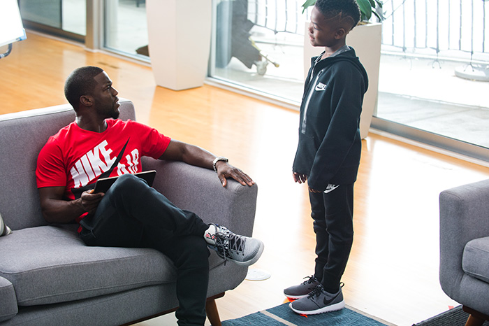 "Kevin Hart Commercial >> Kevin Hart x Kids Foot Locker ""Borrowed"" Campaign - mini ..."