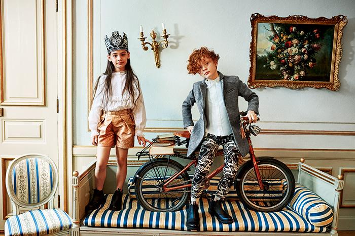 H&M Studio Kids Autumn/Winter 2016 Lookbook