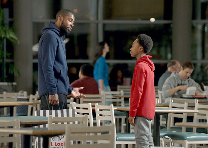 Kyrie Irving for Kids Foot Locker Holiday 2016 Campaign