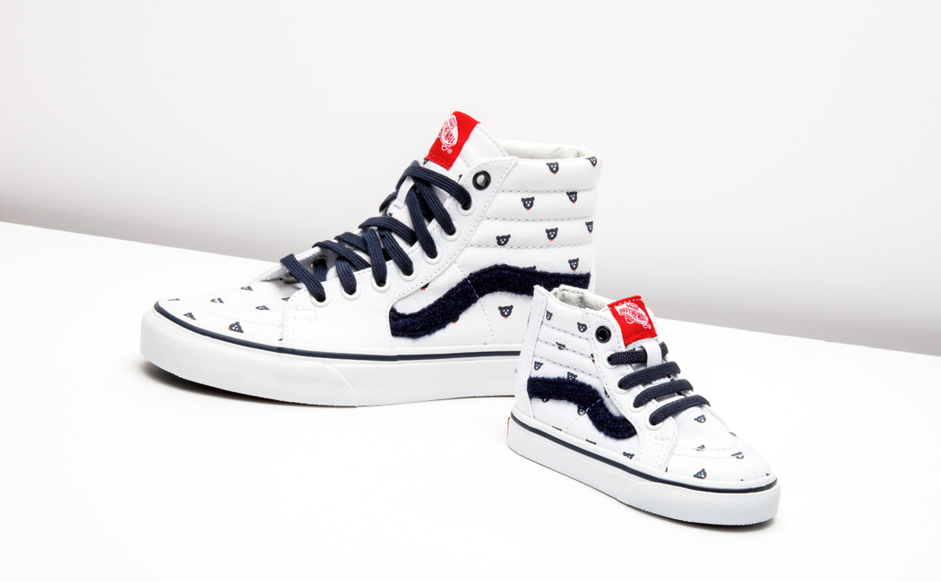 mini:licious three year anniversary + Vans SK8-Hi Collaboration!