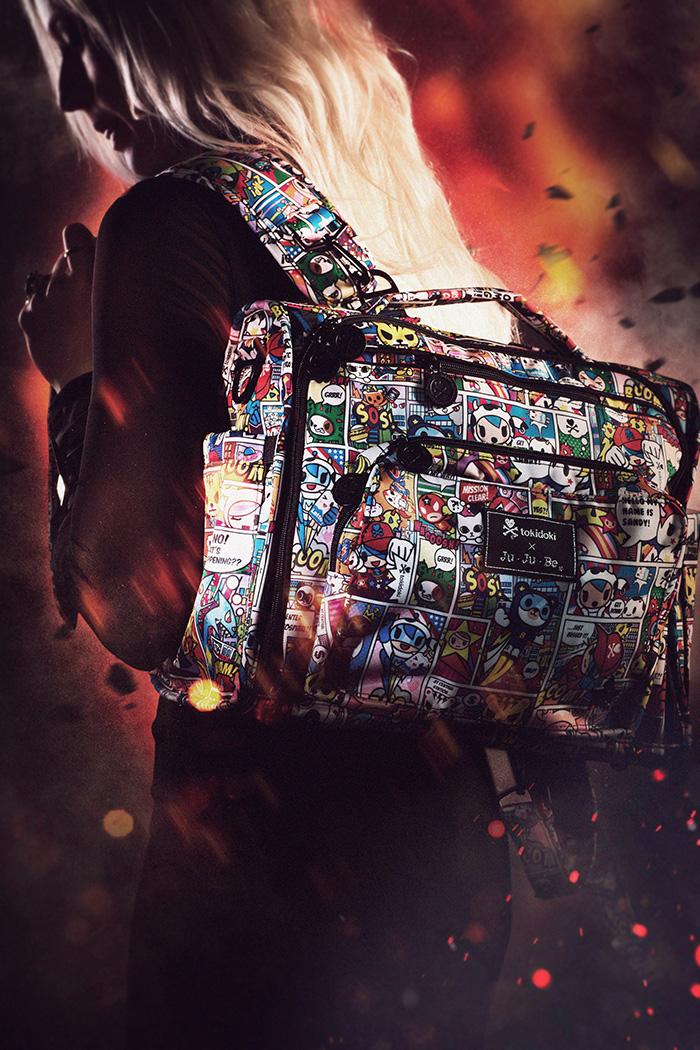 Ju-Ju-Be X tokidoki 'Super toki' and 'Sweet Victory' Collections