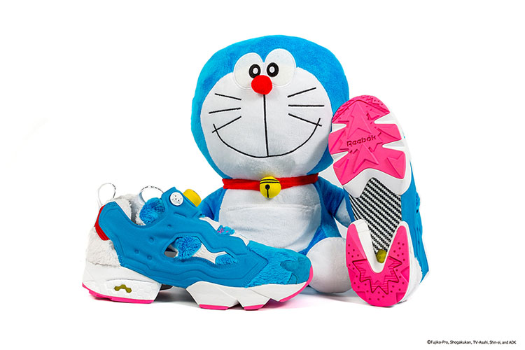 Anime Character Doraemon Inspires This Reebok Fury By Packer Shoes and atmos