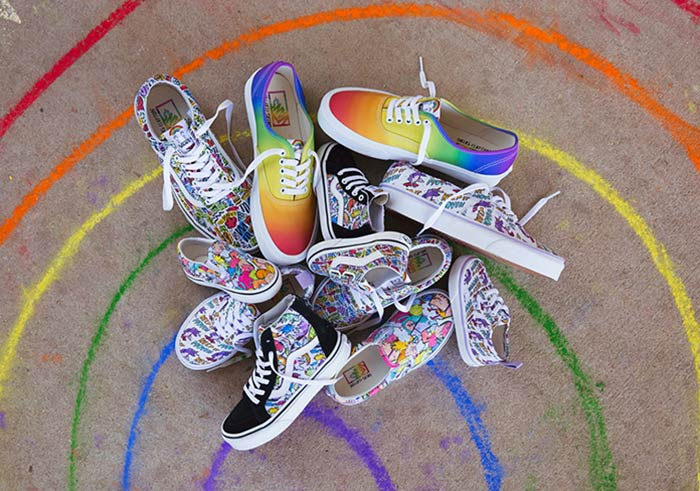 "Dallas Clayton x Vans ""Inspiration"" Footwear Collection"