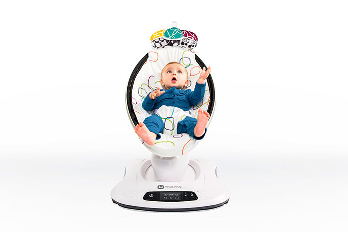 4moms Launches mamaRoo 4 Infant Seat