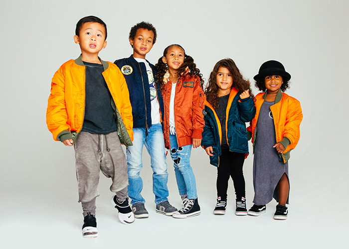 Alpha Industries Kids Fall/Winter 2017 Lookbook