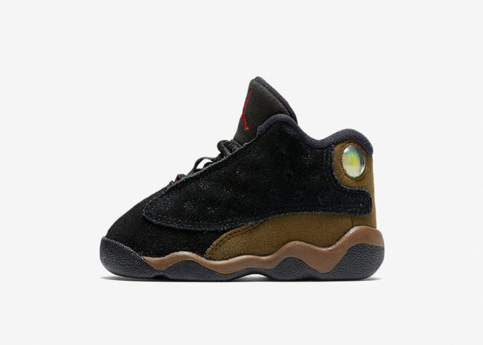 "Air Jordan 13 ""Olive"" Releasing In A Full Family Size Run"