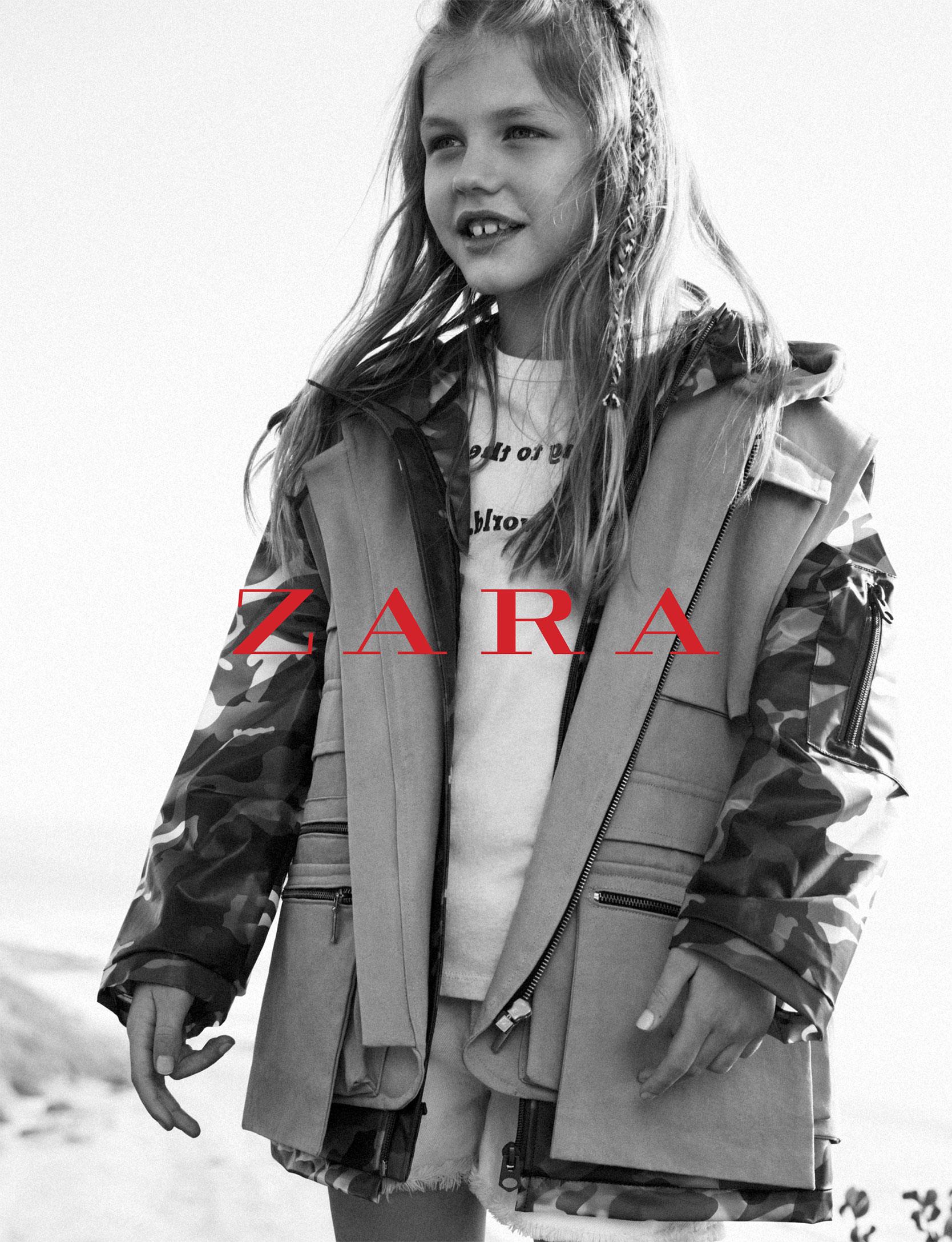 Zara Kids Spring/Summer 2018 Campaign