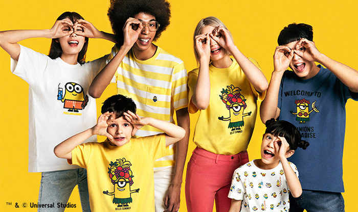 Minions x Uniqlo UT Bello Summer Kids Collection