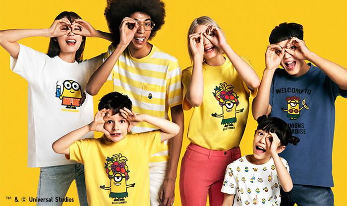 Minions x Uniqlo UT Bello Summer Kids Collection