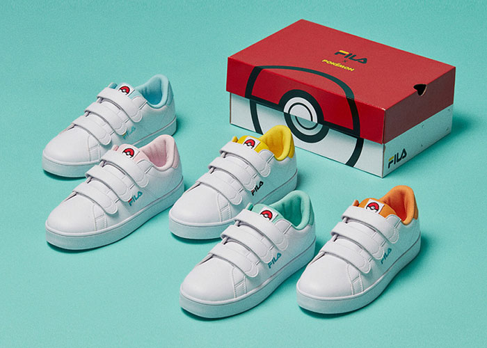 FILA And Pokemon Come Together For Kids Collaboration