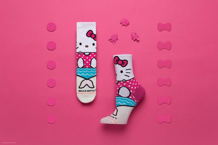 Stance x Sanrio Hello Kitty Spring 2018 Kids Collection