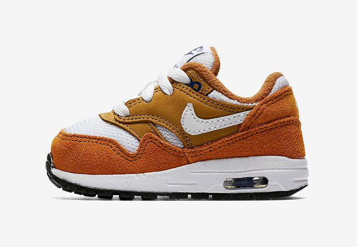 "Nike Air Max 1 ""Curry"" Releasing In Toddler Sizes"