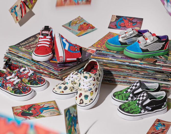 Vans x Marvel's Avengers Kids Collection