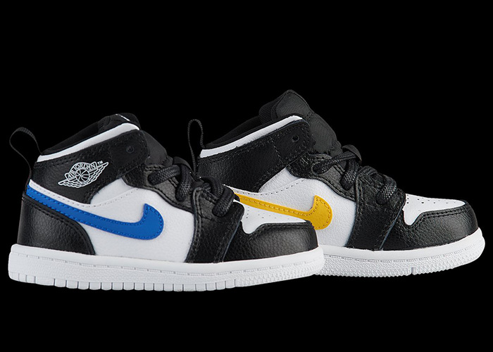 Jordan Brand To Restock Air Jordan 1 Mid With Mismatched Swooshes