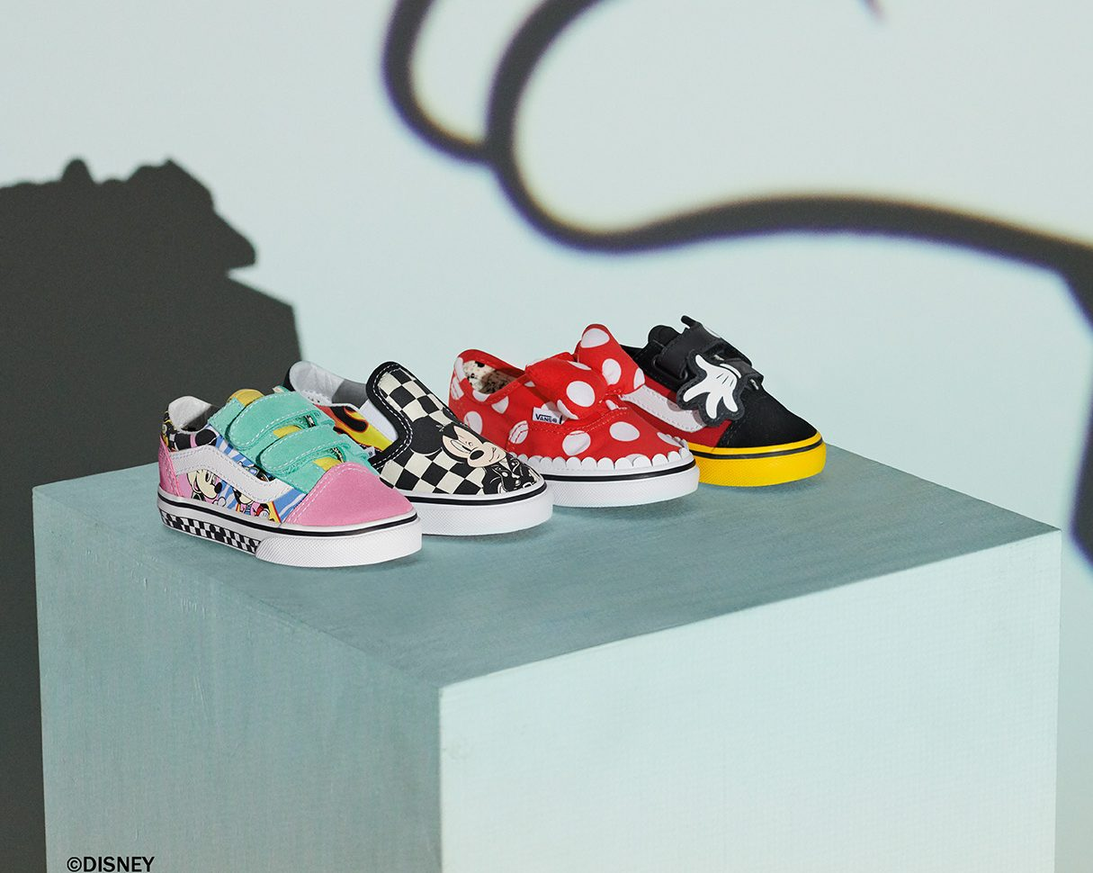 Vans x Mickey Mouse 90th Anniversary Collection