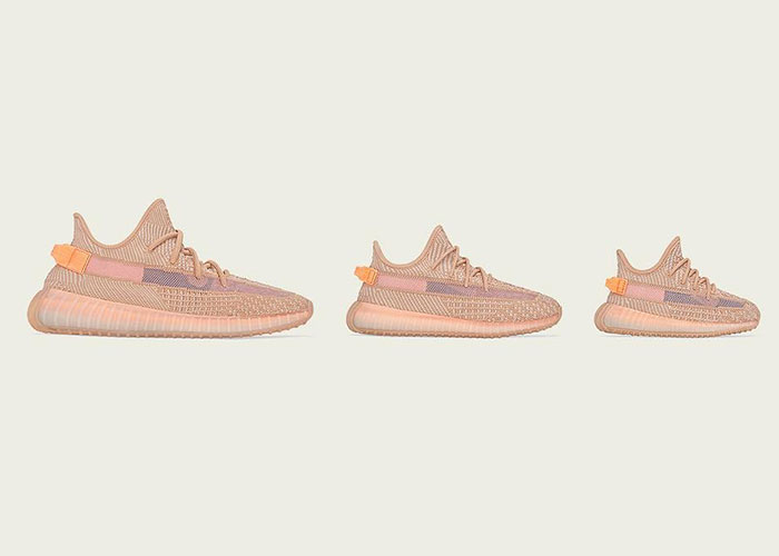 The Yeezy Boost 350 V2 Clay Is Arriving In Sizes For Kids And Infants