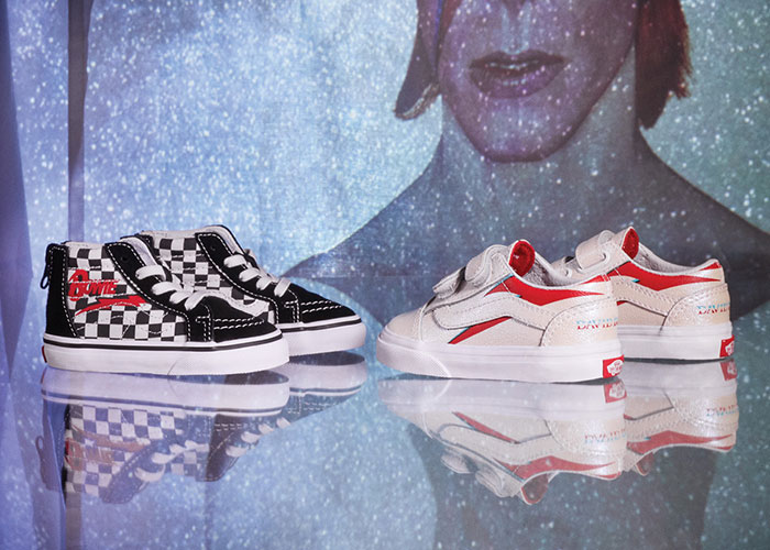 Vans Honors David Bowie With A Capsule of Graphic Old Skools