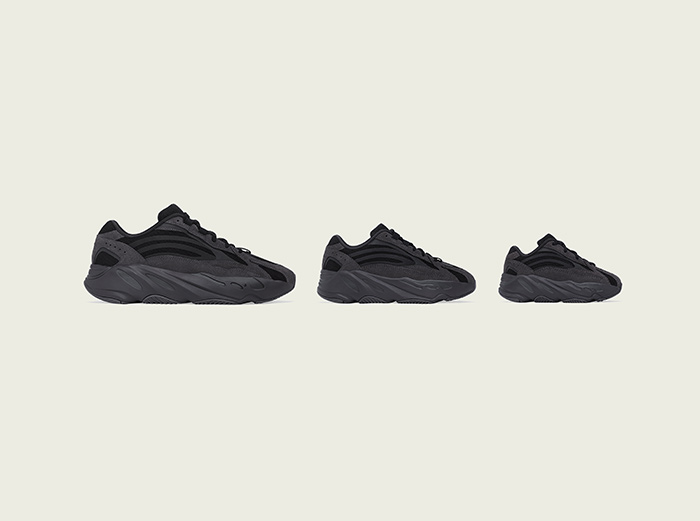 "adidas Goes Full Black With The Yeezy Boost 350 v2 ""Black"" and the 700 v2 ""Vanta"""