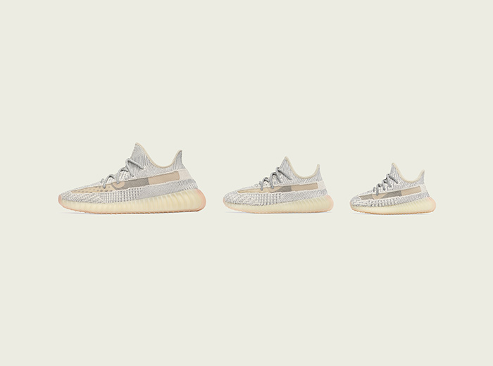 "The adidas Yeezy Boost 350 v2 ""Lundmark"" Is Arriving For The Whole Family"