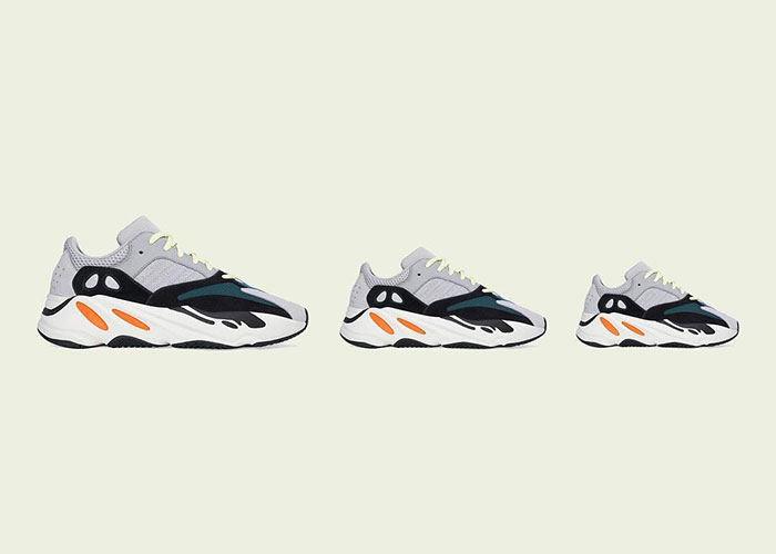 "The adidas Yeezy Boost 700 ""Wave Runner"" Is Coming Back In A Full Family Size Run"