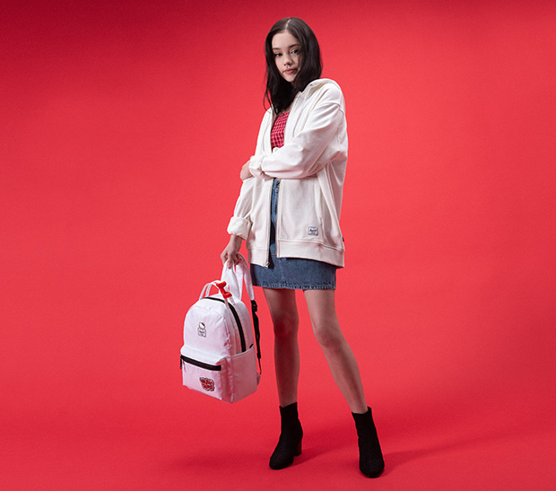 Herschel Supply x Hello Kitty 45th Anniversary Collection