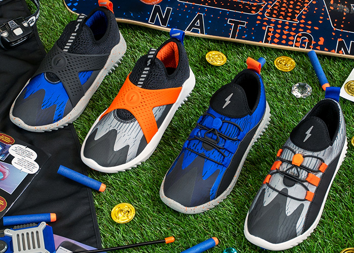 NERF And Super Heroic Promote Healthy Lifestyles With New Apparel And Footwear Line