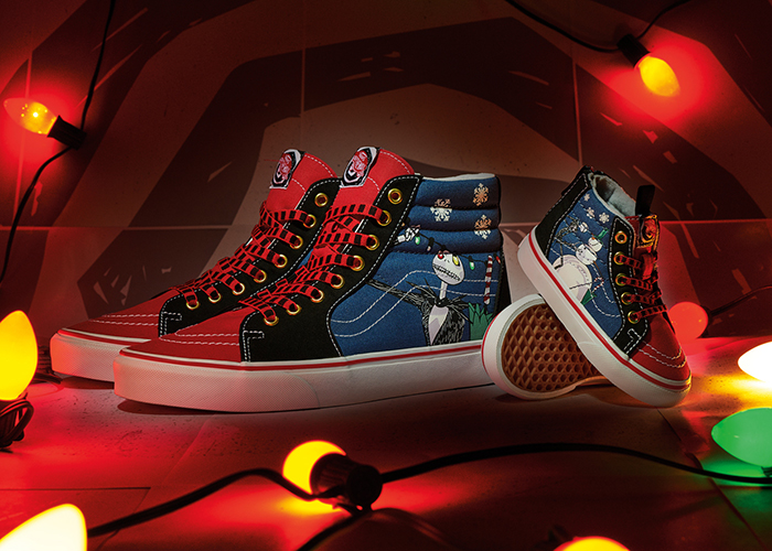 "Vans Kicks Off The Holiday Season With A Special Edition Of Their ""The Nightmare Before Christmas"" Sk8-Hi"