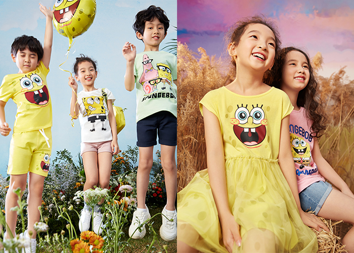 H&M Rings In Summer With A SpongeBob SquarePants Collaboration