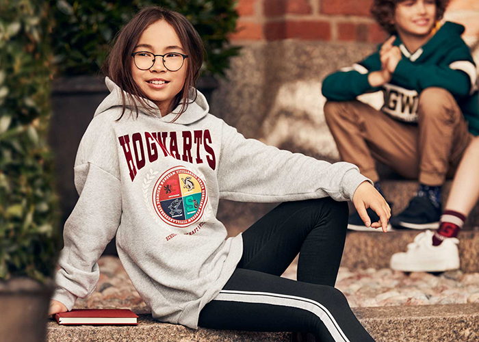H&M Explores The Wizarding World Of Harry Potter With FW20 Collaboration